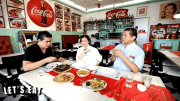 Get to know Claude Tayag's throwback Downtown 1956 Cafe by Bale Dutung