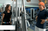 Bianca hits the gym with trainer Boc Santos