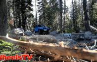Angel discovers the off-roading capabilities of Jeep