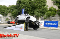 Stunt driver Russ Swift shows us his moves