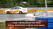 Circuit racing training with Kap