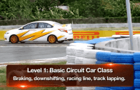 Circuit racing training with Kap