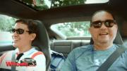 Kap drives a Porsche around Singapore