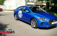Test driving the Hyundai Elantra