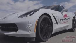 Watch Manny's Chevrolet Corvette test-drive in Las Vegas!