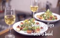 Feast With Me: Seared Scallops and Lardons Salad Recipe with Charles Tiu