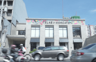 Cheap fabric store in the Metro || Telas de Mercato