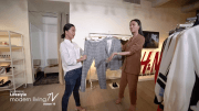 H&M Try On Work Outfit Haul with Bianca Gonzalez and Em Millan