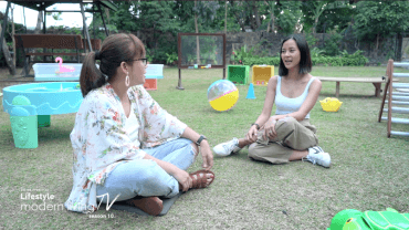 Bianca Gonzalez learns parenting hacks from Teacher Tanya